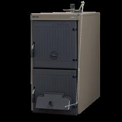 Chaudière bois charbon en fonte Solida EV7_ 40 kW