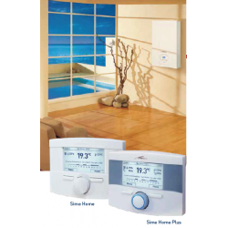 Thermostat programmable filaire SIME home