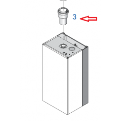Adaptateur ø 80/125 (condensation)
