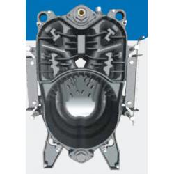 Chaudière fioul en fonte Estelle 5 ErP_ 32,7 kW (sans brûleur)