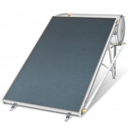 Chauffe-eau solaire 160 litres convection naturelle toit plat ou prairie